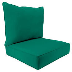 2pc  Deep Seat Cushions, Assorted Colors