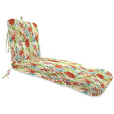 Jordan Manufacturing Outdoor Chaise Lounge Cushion - Assorted Fabrics and Colors