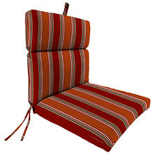Replacement Chair Cushion in Assorted Fabrics and Colors