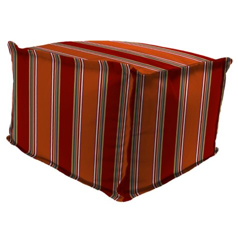 Outdoor Poof Ottoman, Various Colors