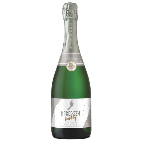 Barefoot Bubbly Brut Cuvee Champagne (750 ml)