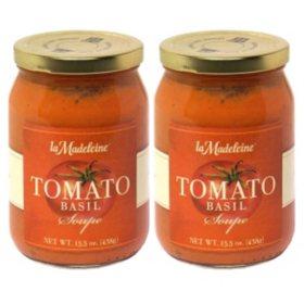 La Madeleine Tomato Basil Soup (31 oz.)