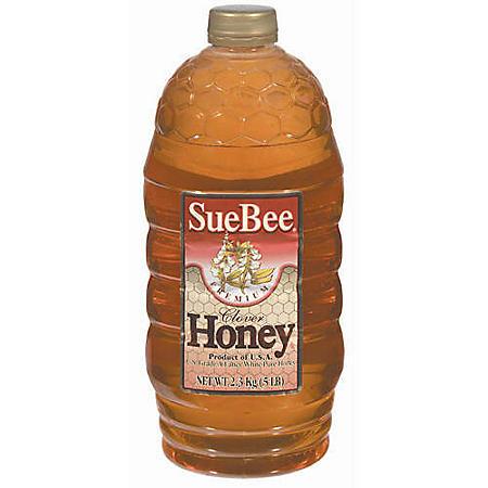 Sue Bee Natural Clover Honey (5 lbs.)