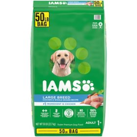 Iams Adult ProActive Health Large Breed Chicken Dry Dog Food (50 lbs.)