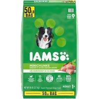 Iams Adult ProActive Health Minichunks Chicken Dry Dog Food (50 lbs.)