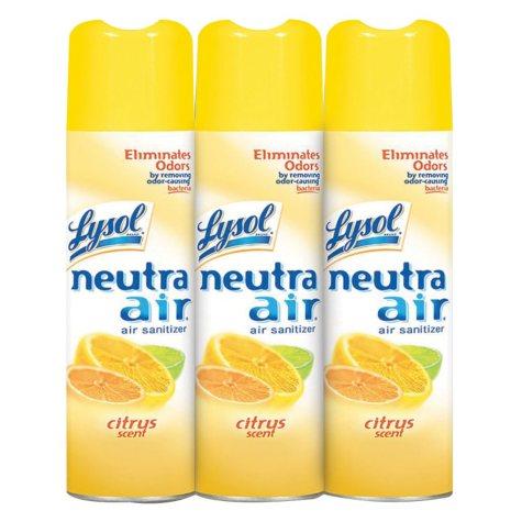 Lysol Neutra Air Citrus Scent  (16 oz., 3 pk.)