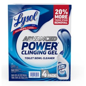 Lysol Advanced Toilet Bowl Cleaner (32 oz., 4 pk.)