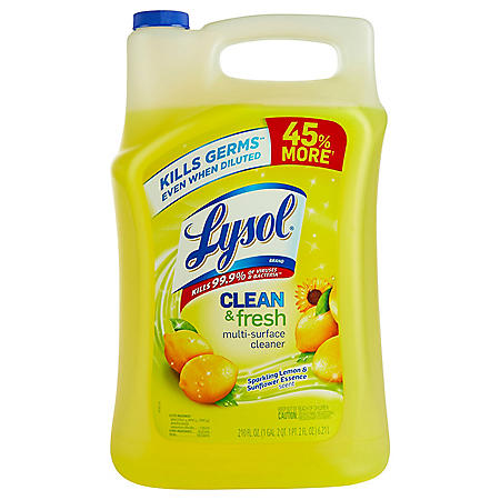 Lysol Clean & Fresh Multi-Surface Cleaner (210 oz.)
