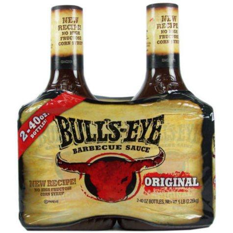 Bulls-Eye Barbecue Sauce Original - 2/40oz