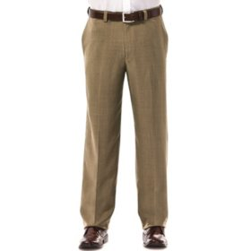 Haggar Men's Travel Performance Dress Pant