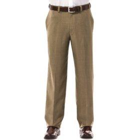 Haggar Men's Travel Performance Dress Pant
