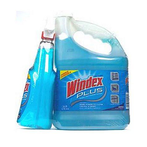 Windex Plus 32 oz. + 128 oz. Refill
