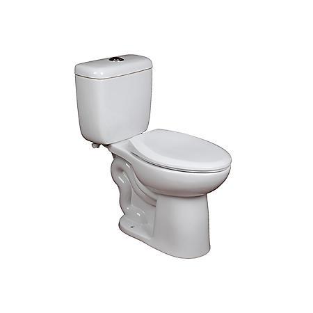 Members Mark High Efficiency Dual Flush 2 Piece Toilet