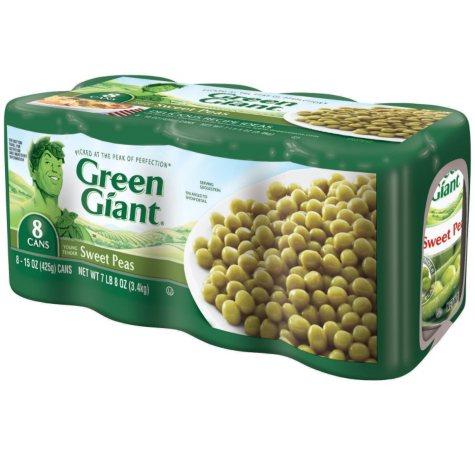 Green Giant? Sweet Peas - 106 oz.