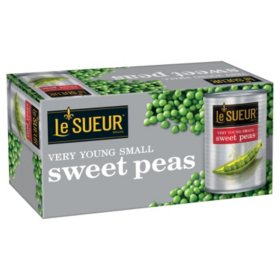 Le Sueur Very Young Small Sweet Peas (15 oz., 8 ct.)