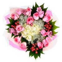 Premium Rose Bouquet, Assorted (variety and colors may vary)