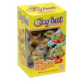 Mini Burger 72 ct