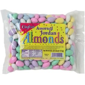 Confetti Assorted Jordan Almonds - 2.5 lbs.