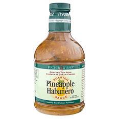 Fischer & Wieser Roasted Pineapple-Habanero Sauce (36 oz.)
