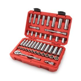 "TEKTON 45-Pc. 3/8"" Drive Socket Set"