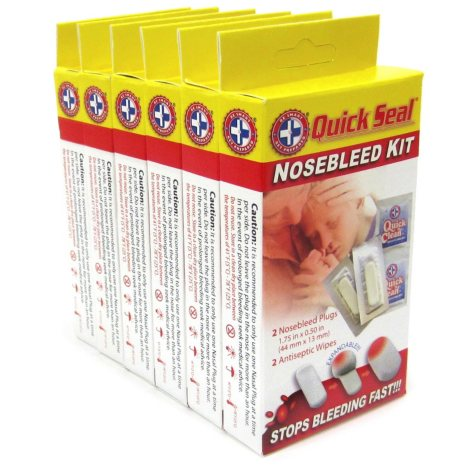 Quick Seal Nosebleed Kit (2 ct., 6 pk.)