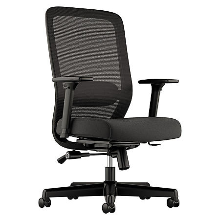 basyx VL721 Series Mesh Executive Chair, Black