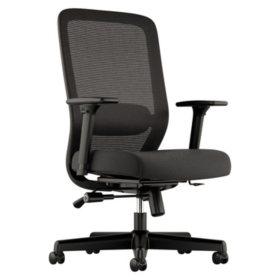 basyx VL721 Series Mesh Executive Chair, Black