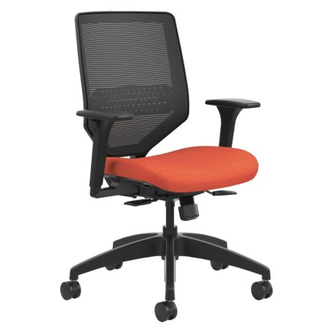 HON Solve Series Mesh Back Task Chair, Bittersweet