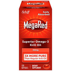 MegaRed 350mg Omega-3 Krill Oil Dietary Supplement (130 ct.)
