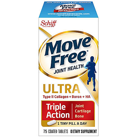 Move Free Ultra Triple Action Tablets (75 ct.) - Sam's Club