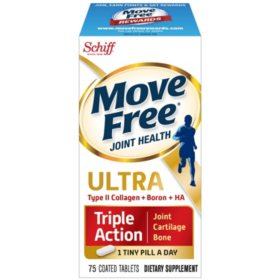 Move Free Ultra Triple Action Tablets (75 ct.)