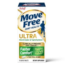 Move Free Ultra Faster Comfort, Clinically Proven Joint Support (75 ct.)