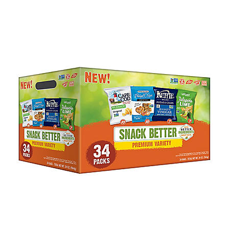 Snack Better Premium Variety Pack (1 oz., 34 ct.)