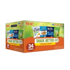 Snack Better Premium Variety Pack (1 oz., 34 ct.)