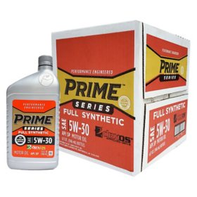 Prime Series Full Synthetic Motor Oil SAE 5W-30