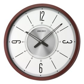 "Seiko 20"" Abbott Wall Clock"