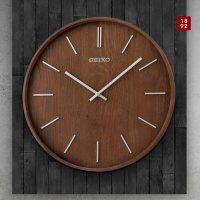 "Seiko 13"" Wall Clock (Assorted Colors)"