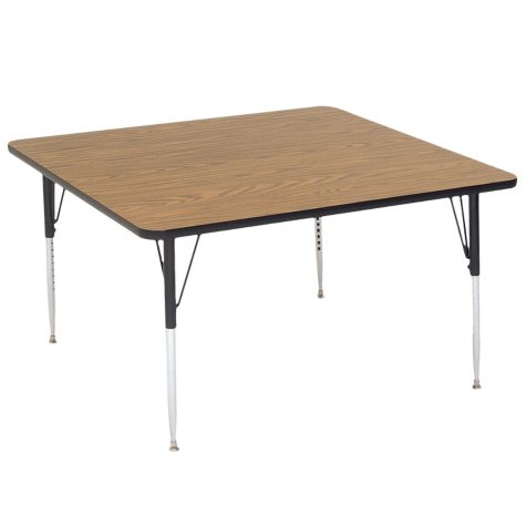 """Correll 36"""" Square Activity Table, Select Color"""