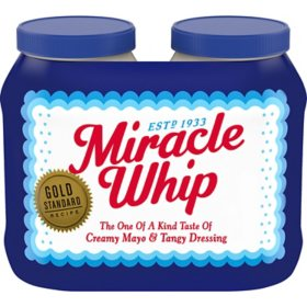 Miracle Whip Dressing (30 oz., 2 pk.)