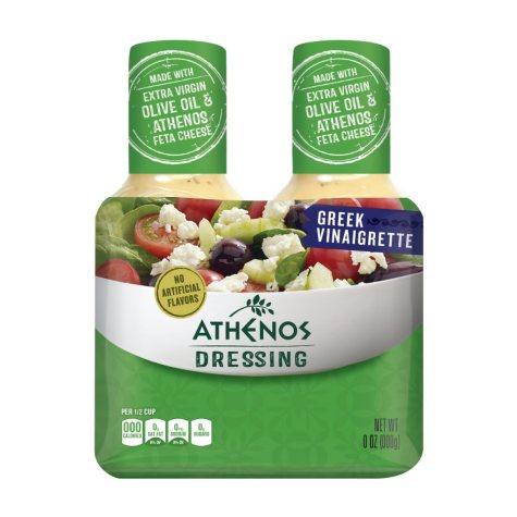Atheno's Greek Vinaigrette Dressing (20 oz., 2 pk.)
