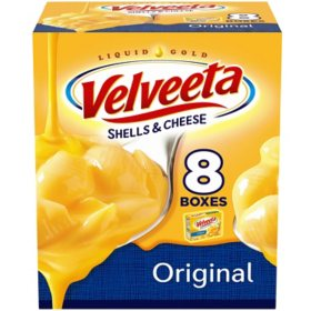 Velveeta Original Shells & Cheese (12 oz., 8 pk.)