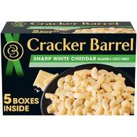 Cracker Barrel Sharp White Cheddar Macaroni & Cheese Dinner (14 oz., 5 pk.)