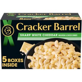 Cracker Barrel Sharp White Cheddar Macaroni & Cheese Dinner (14 oz., 5 pk.)