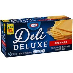 Kraft Deli Deluxe American Cheese Slices (48 ct.)