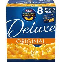 Kraft Deluxe Original Cheddar Macaroni and Cheese Dinner (14 oz., 8 pk.)