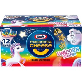 Kraft Easy Mac Unicorn Shapes Macaroni and Cheese (12 ct.)