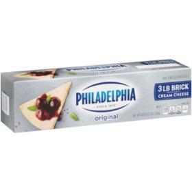Kraft Philadelphia Cream Cheese (3 lbs.)
