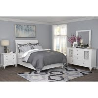 Lillian White Storage Bedroom Set (Assorted Sizes)