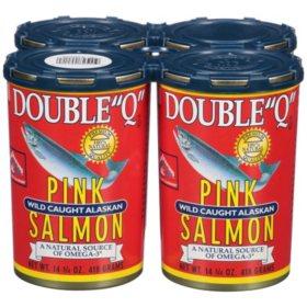 "Double ""Q"" Pink Salmon (14.75 oz., 4 pk.)"