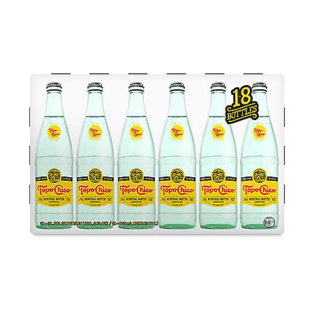 Topo Chico Sparkling Mineral Water (16.9 fl. oz., 18 pk.)